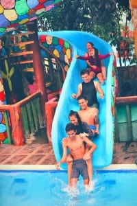 family attractions blue lagoon